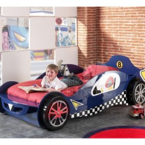 Formula 1 Mclaren Blue Car Racer Bed
