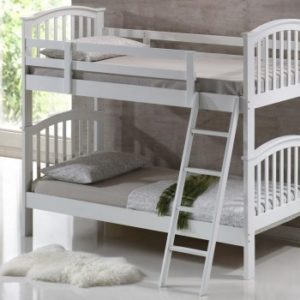 Children's Bunk Bed - White