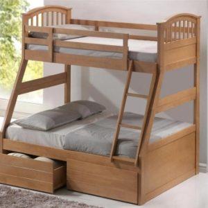 1majestic-three-sleeper-bunk-bed-maple