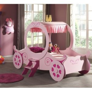 Girls Princess Carriage Dream Bed