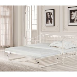 1new-single-white-day-bed-with-trundle-mattress-free-delivery