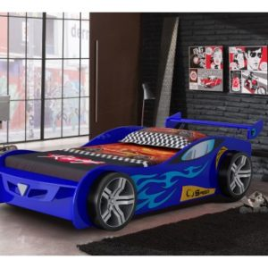 Z1 Blue Racer Car Bed