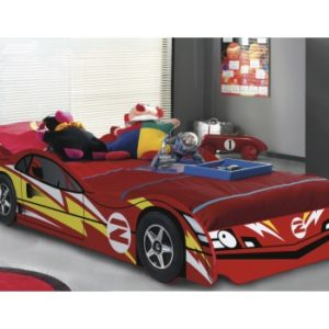 NO.2 Boys Red Car Bed