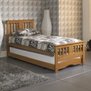 Oak Guest Bed Inc Trundle