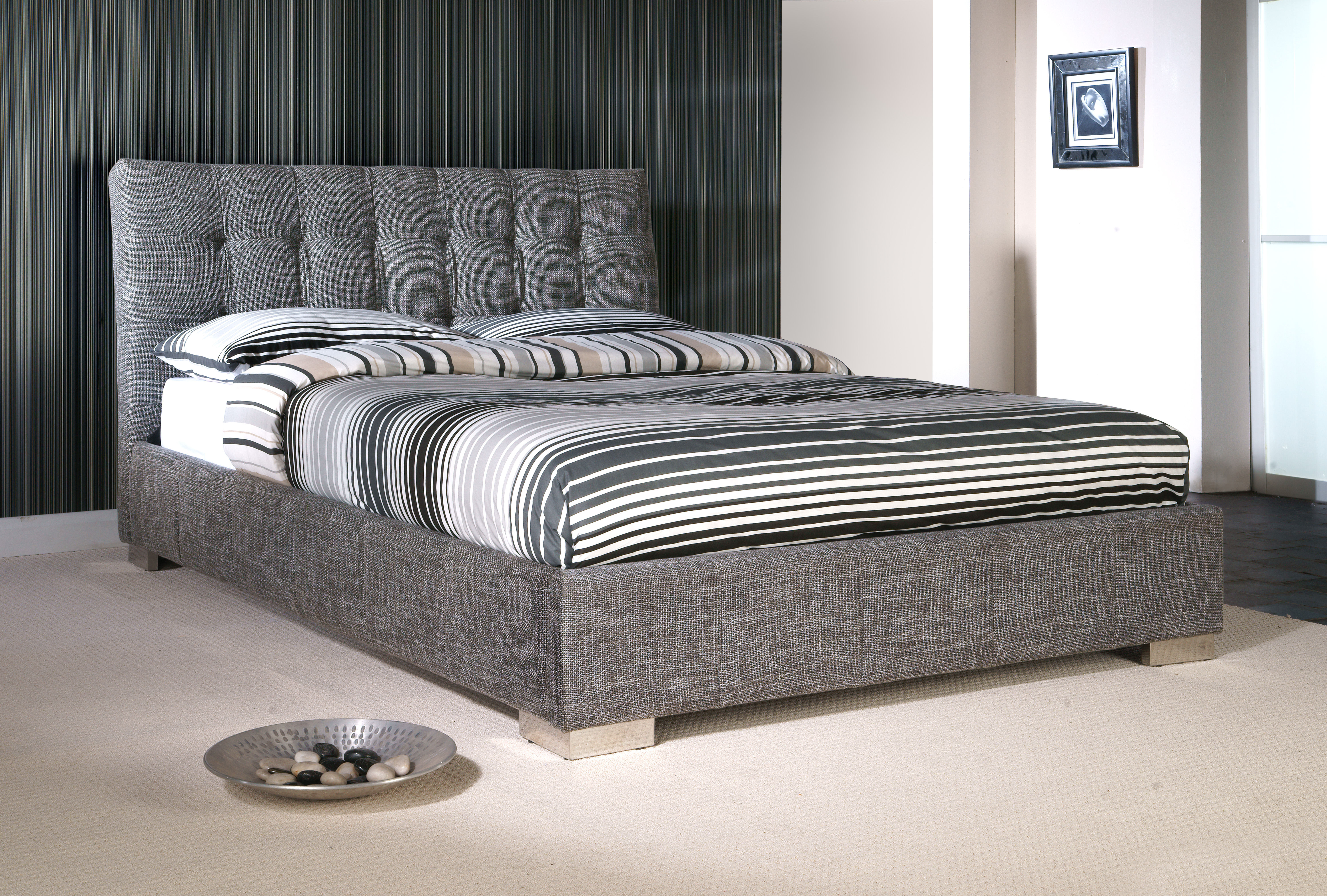 mattresses sleep product woodland it on divan fabric affordable beds just bed