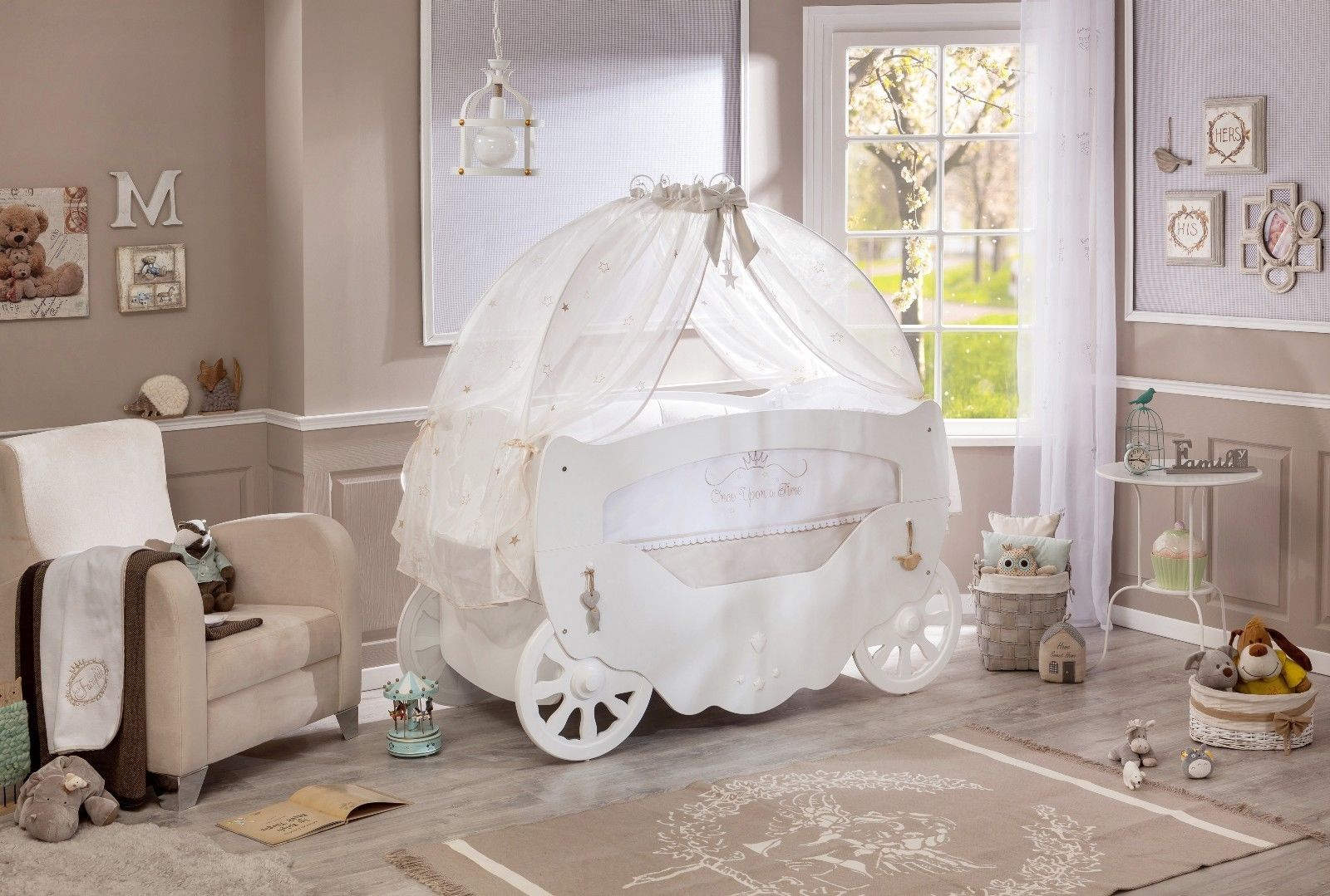 White Fairy Baby Cot Bed With Canopy. Return to Previous Page. lightbox & White Fairy Baby Cot Bed With Canopy | Majestic Furnishings