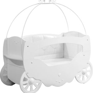 White Fairy Baby Cot Bed