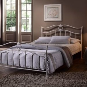 4'6 Double Amelia Metal Bed