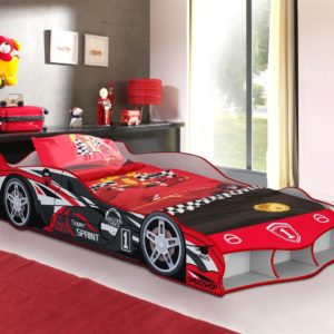 Red Supersprint Car Bed