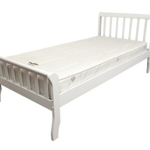 White Milan Bed