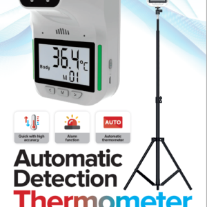 Contactless Automatic Body Temperature Thermometer + Free Tripod Mount